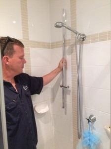Warriewood New Shower Rail